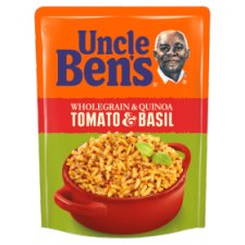 Uncle Bens Microwave Quinoa Tomato Basil Rice 220G