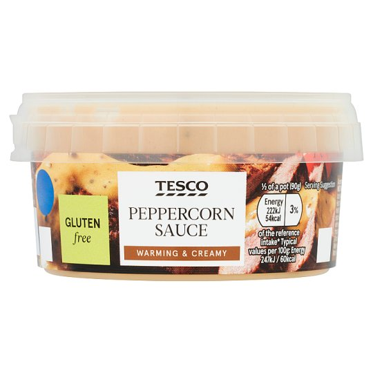 Tesco Peppercorn Sauce 180G