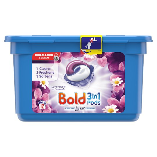 Bold Pods Washing Capsules Lavender And Camomile 12 Washes