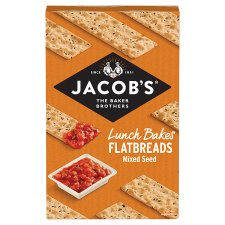 image 1 of Jacobs Flatbread Mixed Seeds 150G