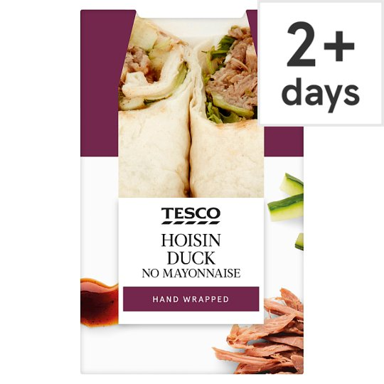 Tesco Hoisin Duck Wrap