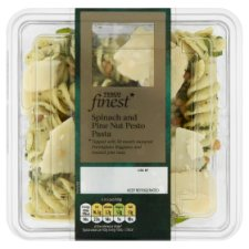 Tesco Finest Spinach Pinenut Pasta 400G
