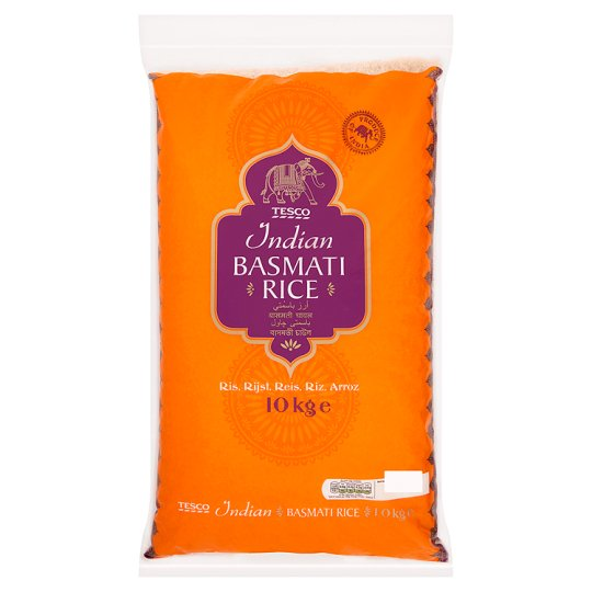 Tesco Indian Basmati Rice 10Kg