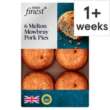 Tesco Finest 6 Mini Melton Mowbray Pork Pies 300G
