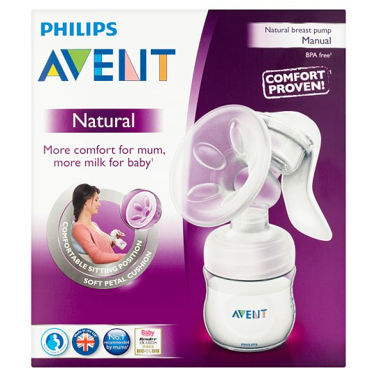 Philips Avent Natural Breast Pump Manual Baby Phillips