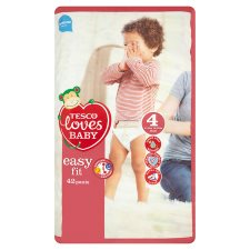 Tesco Loves Baby Easy Fit Pants Size 4 Maxi 42