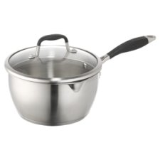 Go Cook Stainless Steel Saucepan 20Cm