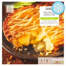 Tesco Bramley Apple Pie 700G