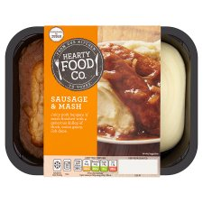 Hearty Food Company Sausages And Mash 400G