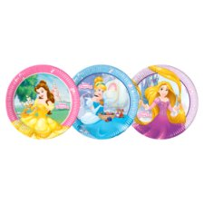 Disney Princess Paper Plate 8Pk