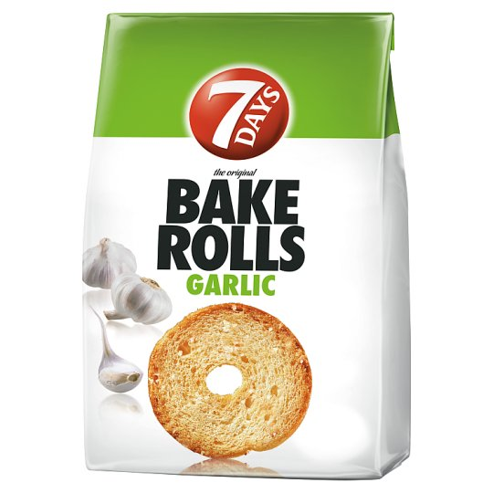 7Days Bake Rolls Garlic 160G