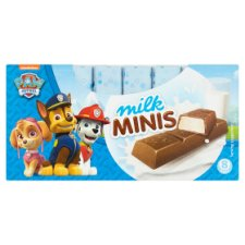 Milk Minis Paw Patrol Chocolate Bars 8X12.5G