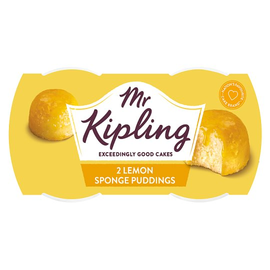 Mr Kipling Sponge Pudding Lemon 2X95g