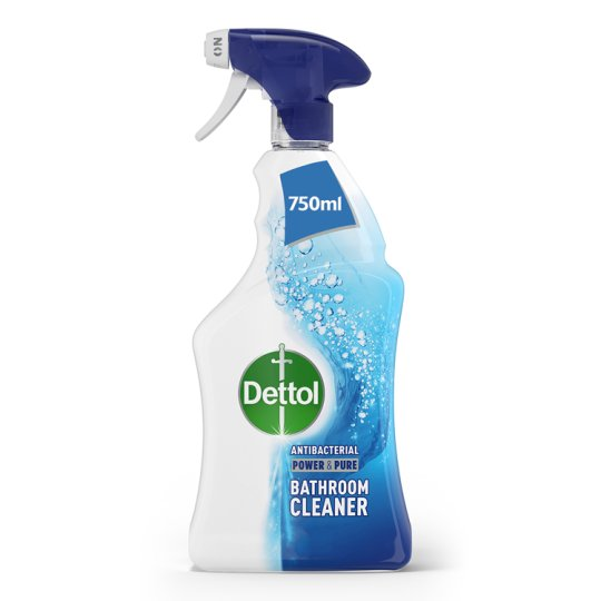 Dettol Spray Power And Pure Bathroom 750Ml