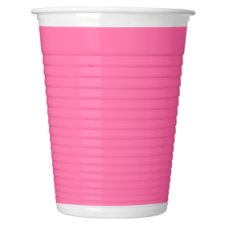 Tesco Pink Cups 8Pk