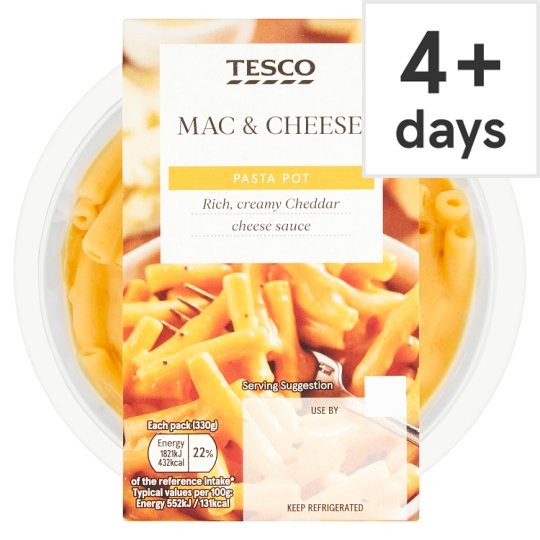 Tesco Mac & Cheese 330G