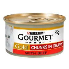 Gourmet Gold Chunks In Gravy Beef 85G