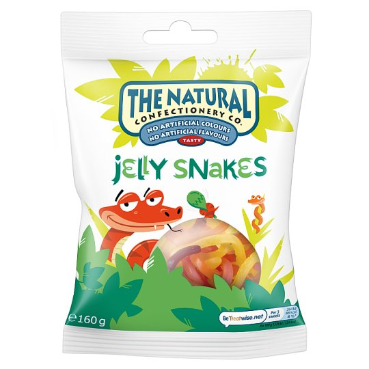 Natural Confectionery Co Jelly Snakes 160G