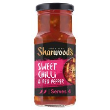 Sharwoods Szechaun Sweet Chilli & Red Pepper Sauce 425G