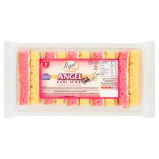 Regal Angel Cake Slices 5 Pieces