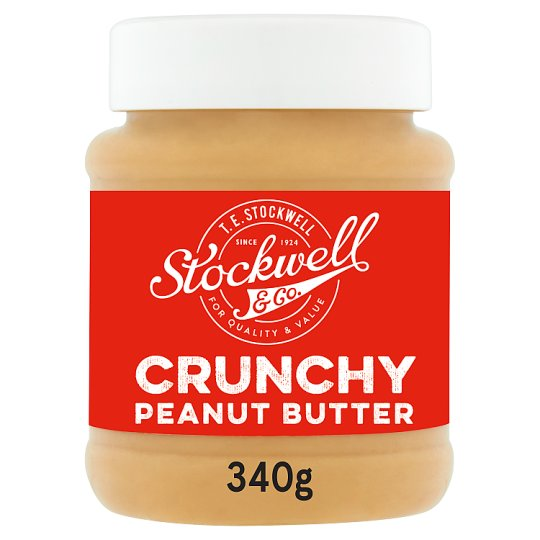Stockwell And Co Crunchy Peanut Butter 340G