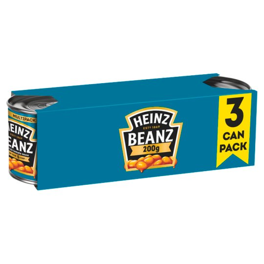 Heinz Baked Beans In Tomato Sauce 3 X200g