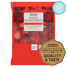 Tesco Whole Strawberries 350G
