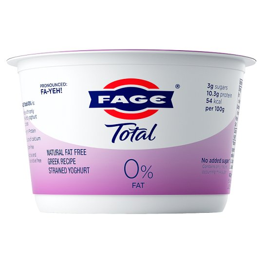 Total 0% Fat Greek Yoghurt 500G