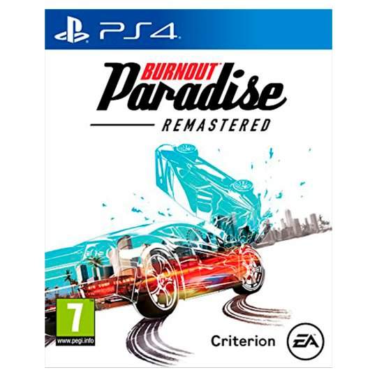 Burnout Paradise Ps4 Game