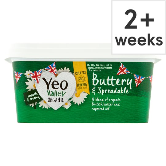 Yeo Valley Organic Spreadable Butter 500G