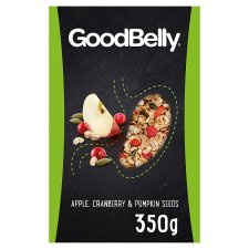 Goodbelly Oat Flakes With Apple & Cranberry 350G