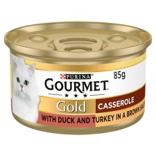 Gourmet Gold Duo Duck And Turkey 85G