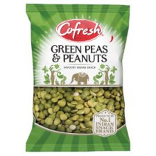 Cofresh Spicy Green Peas And Peanuts 325G