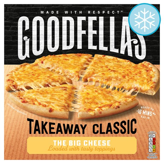Goodfella's Takeaway The Big Cheese Pizza 555G