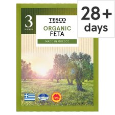Tesco Organic Greek Feta Cheese 200 G