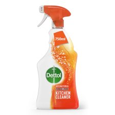 Dettol Spray Power And Pure Kitchen 750Ml
