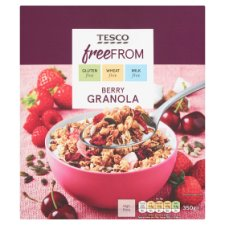 Tesco Free From Berry Granola 350G