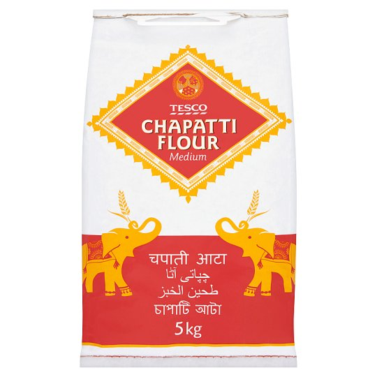 Tesco Medium Chapatti Flour 5Kg