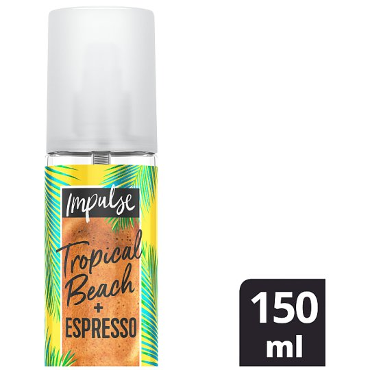 Impulse Tropical And Espresso Bodymist 150Ml