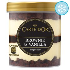 Carte D'or Brownie & Vanilla Ice Cream 430Ml