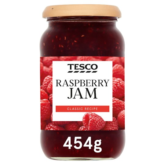 Tesco Raspberry Jam 454G
