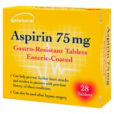 Galpharm Enteric Coated Aspirin 75Mg 28S