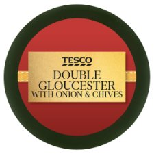 Tesco Double Gloucester Truckle Cheese 100 G