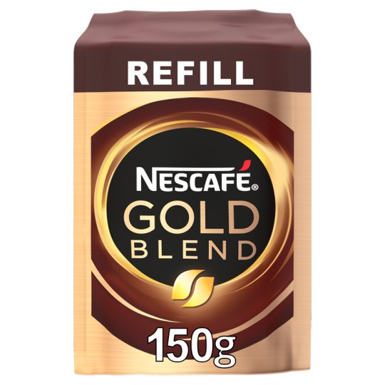 Nescafe Gold Blend Instant Coffee Refill 150G