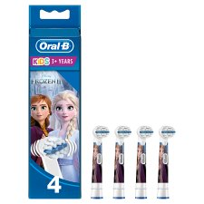 image 1 of Oral-B Stages Frozen Replacement Electric Toothbrush Heads 4
