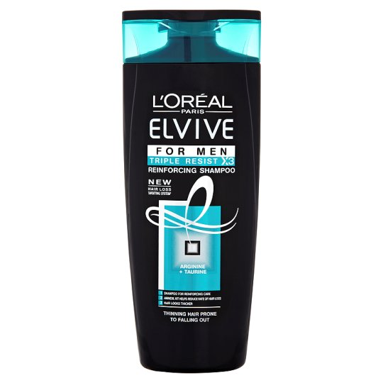 Loreal Triple Resist Men Shampoo 250Ml