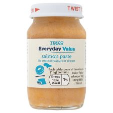 Tesco Everyday Value Salmon Paste 75G