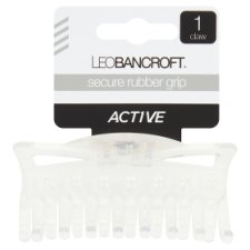 Leo Bancroft Active Non Slip Claw With Rubber Grip