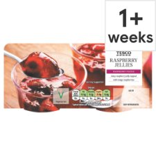 Tesco Raspberry Jelly Dessert 2 X140g