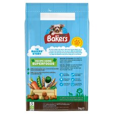 image 2 of Bakers Dog Food Beef And Vegetable 3Kg